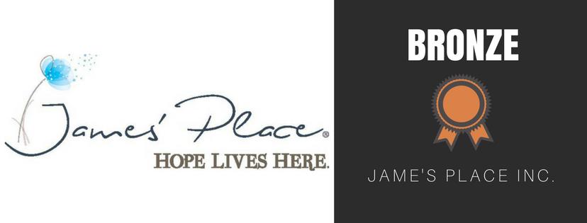 Bronze Sponsor Jame's Place Inc.