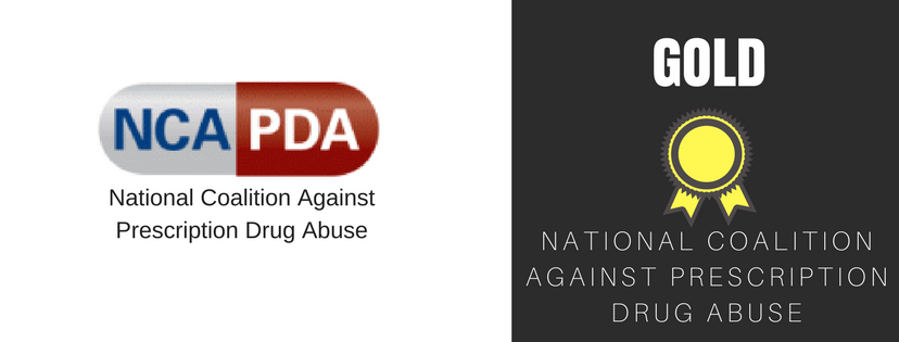 Gold Sponsor National Coalition Against Prescription Drub Abuse